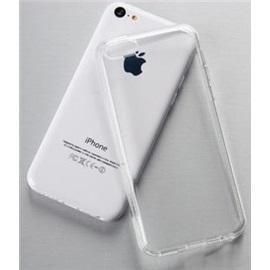 Transparentní silikonové pouzdro Apple iPhone 5C