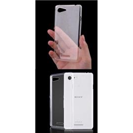 Transparentní silikonové pouzdro Sony Xperia E3