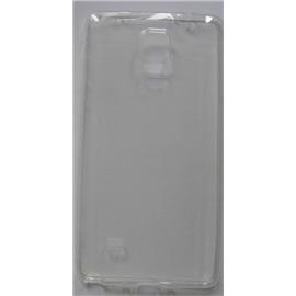 Transparentní silikonové pouzdro Samsung Galaxy Note 4