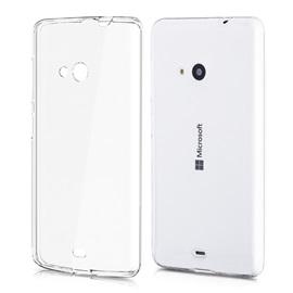 Transparentní silikonové pouzdro Microsoft Lumia 535