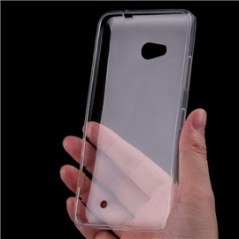 Transparentní silikonové pouzdro Microsoft Lumia 640, 640 LTE, 640 Dual Sim