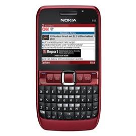 Nokia E63; ČERVENÁ