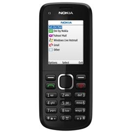 Nokia C1-02; ČERNÁ
