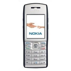 Nokia E50-1, černá - stříbrná