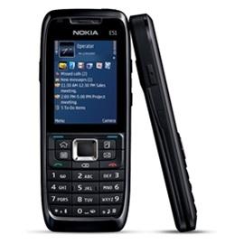 Nokia E51-1, černá