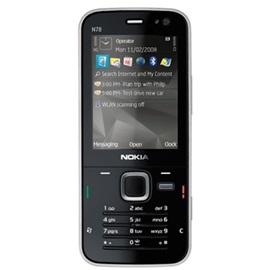 Nokia N78, černá