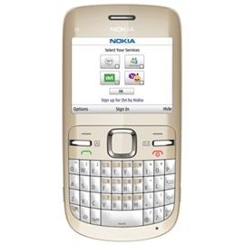 Nokia C3, zlatá