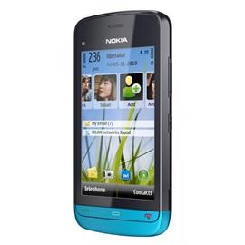 Nokia C5-03, modrá